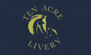 Logo option created for Ten Acre Livery Nr Wimborne