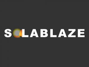 solablaze logo design
